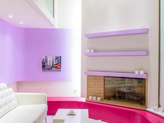 Barbies' House!: Case in stile in stile Eclettico di Minelli | Architetto