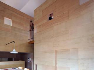 川添純一郎建築設計事務所 Soggiorno minimalista