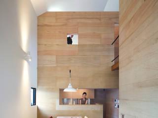川添純一郎建築設計事務所 Livings de estilo minimalista