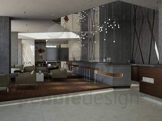 Holiday Inn Express Modern Oteller Pebbledesign / Çakıltașları Mimarlık Tasarım Modern