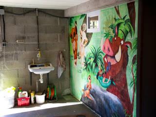 Décoration mur de garage:  de style  par Melanovas