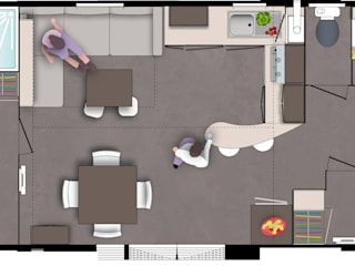 Mobil-home o'hara 980 par Tendance Mobil-home