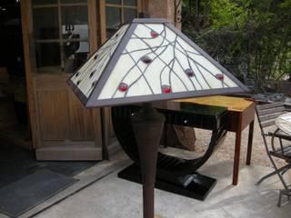 LAMPADAIRE ART DECO TIFFANY DALLAS:  de style  par D'ART ET DECO