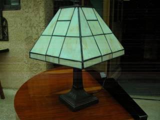 LAMPE DE TABLE ART DECO TIFFANY MENPHIS:  de style  par D'ART ET DECO