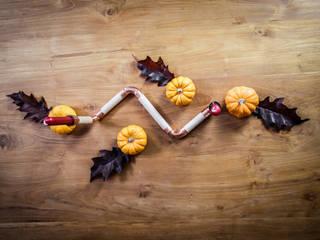 DIY Kupfer und Holz Kerzenhalter de 123 Voilà Minimalista