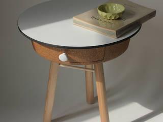 Table liège par Quentin Mevel Minimaliste