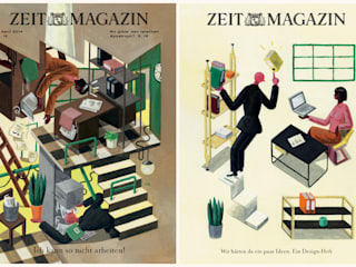 Das ZEITmagazine design issue:   door Pieter Van Eenoge