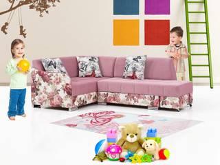 iBRDESIGN – Çocuk odası Köşe koltuğu: modern tarz , Modern