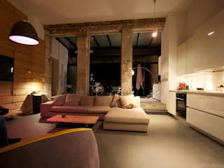 Loft france Salon moderne par New Home Agency Moderne
