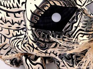 """Dennis Nona, """"Byerb Ibaik"""":  de style  par Galerie Arts d'Australie • Stéphane Jacob"""
