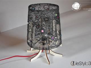 Lampe Dentelle PV2 par Chuilletcreation Éclectique