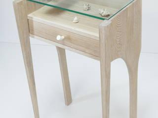 Console / Dressing Table, bleached oak par Meble Autorskie Jurkowski Scandinave