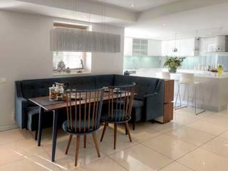Dining room by HANDE KOKSAL INTERIORS, Modern