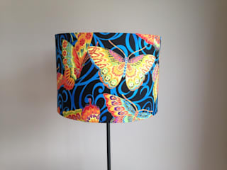 Lampshades:   by Amanda Christie Designs