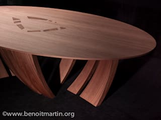 "Table ""MALO"" par Atelier Jerome Dayot Moderne"
