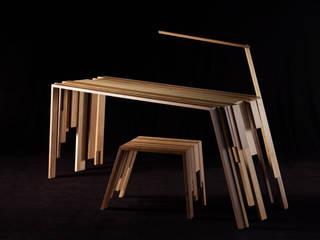 """Bureau """"RECUP"""" par Atelier Jerome Dayot Éclectique"""