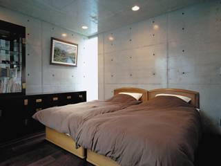 寝室: atelier mが手掛けた寝室です。