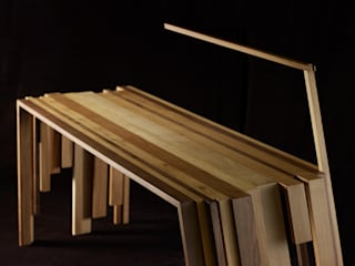 "Bureau ""RECUP"" par Atelier Jerome Dayot Rustique"