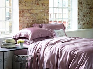 Gingerlily silk bed linen: modern  by Gingerlily, Modern