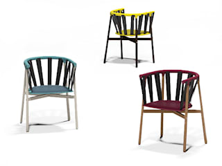 Slinky Enrique Martí Asociados s.l. Dining roomChairs & benches