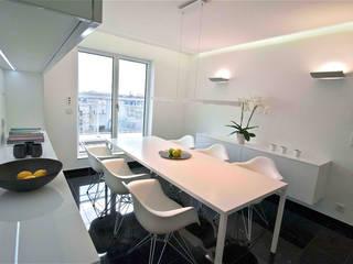Salas de jantar  por Architekturbüro Rollmann&Partner