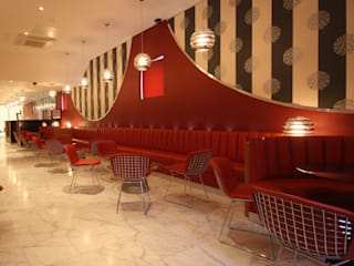 Auction House Banqueting Venue & AH lounge Bar: modern  by Aura Designworks Ltd, Modern