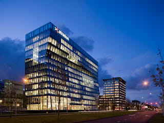 ทันสมัย  โดย OeverZaaijer architectuur en stedebouw, โมเดิร์น
