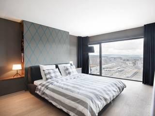 غرفة نوم تنفيذ Dyer-Smith Frey , حداثي