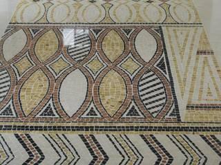 Tapis aborigène Couloir, entrée, escaliers modernes par MOZAIQUE Moderne
