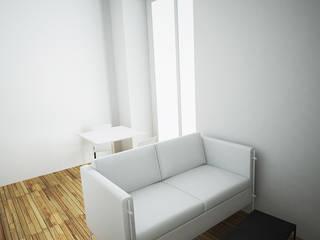 Studio Nantais Chambre moderne par Nicolas Houel Moderne