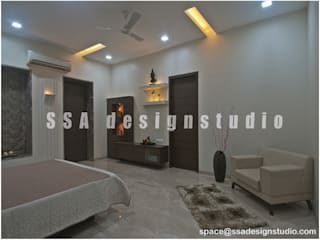 Residence:  Bedroom by SSA Design Studio