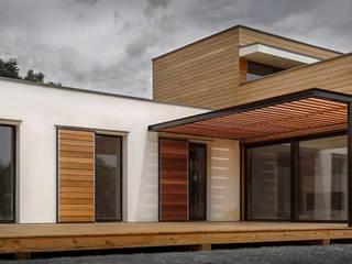 Maison écologique en bois SARL naturARCH Maisons modernes