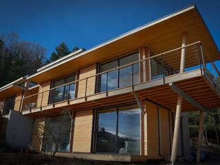 Maison bioclimatique en bois SARL naturARCH Maisons modernes