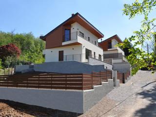 TERRAZZE MONTICELLO HOUSES Casas estilo moderno: ideas, arquitectura e imágenes de EMMANUELLO | ARCHITETTURA | DESIGN Moderno