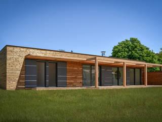 Maison moderne bois SARL naturARCH Maisons modernes