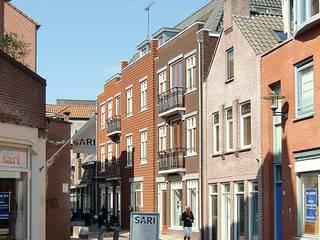Amersfoort, stadsinvulling Koestraat:   door Architectenbureau Van Löben Sels