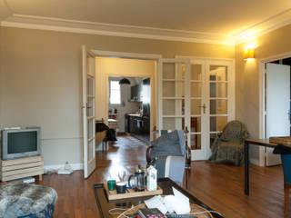 Réaménagement d'un appartement parisien par Emmanuel CROS architecture