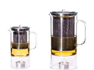 SIGN 0.6l & 1.2l  - Teekanne mit integriertem Wärmer: modern  von Trendglas Jena GmbH,Modern