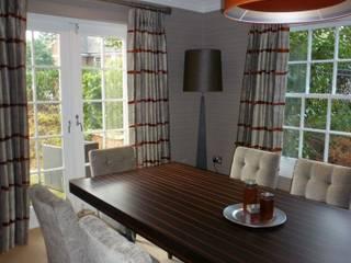 Parkside Modern dining room by Rachel Angel Design Modern