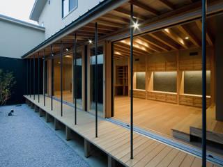 ヤマモミジの家 オリジナルな 庭 の 一級建築士事務所 Kenso Architects オリジナル