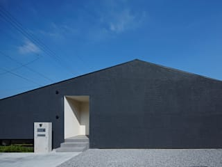 House in Hakonomori Maisons modernes par 石井秀樹建築設計事務所 Moderne