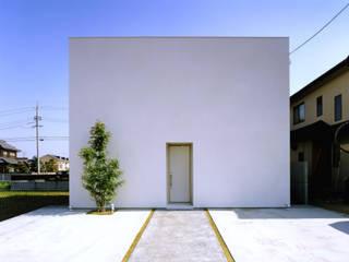 白い箱の家(White Box) の 小野明一級建築士事務所 株式会社小野コーポレーション