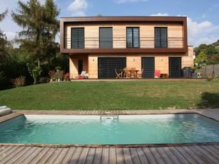 Casas de estilo moderno de Atelier d'Architecture Marc Lafagne, architecte dplg Moderno