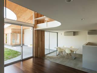 被衣の家 Shawl House オリジナルな 家 の y+M design office オリジナル