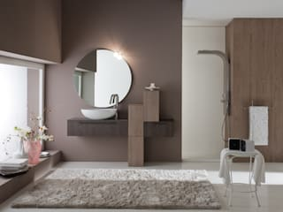 ARCHEDA: Bagno in stile in stile Moderno di Graphosds
