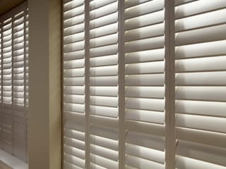 Living Room Shutters :   by The New England Shutter Company