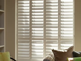TNESC Living Room Shutters :   by The New England Shutter Company