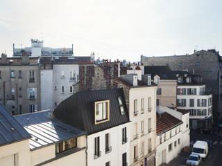 Surélévation Boulogne Billancourt: Maisons de style de style Classique par MALBRAND - ARCHITECTURES