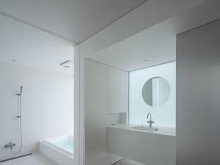 obi house: ソルト建築設計事務所が手掛けた浴室です。