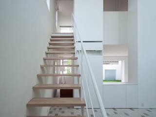 obi house Ingresso, Corridoio & Scale in stile moderno di ソルト建築設計事務所 Moderno